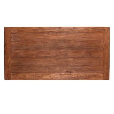 Tischplatte Massivholz Lea Teak natural 220 cm