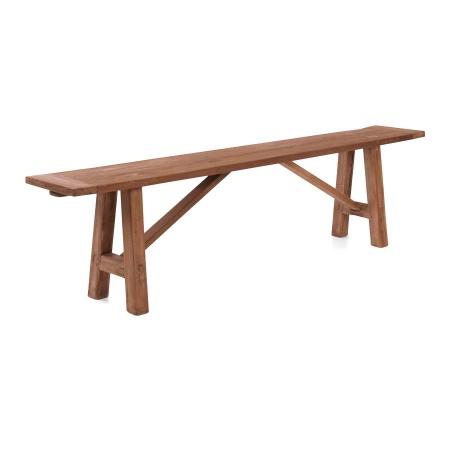 Massivholz Sitzbank Teak Lea natural 200 cm