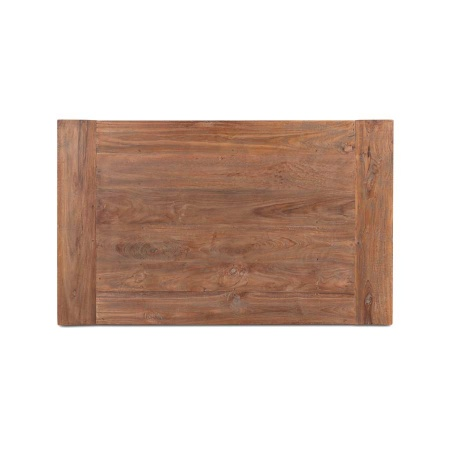 Massivholz Tisch Platte Lea natural Teak 120 cm