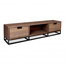 TV Moebel Noby industrial Style Massivholz 170cm