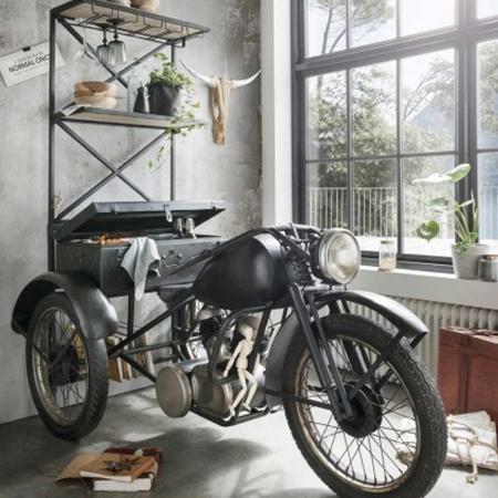Trike Motorrad Bar Regal Vintage Unikat Moebel