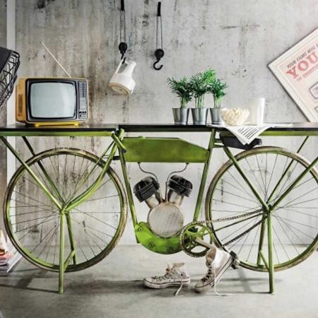 Motor Bike Konsolen Tisch 183 cm