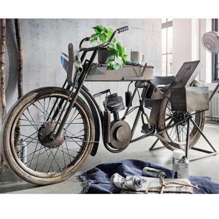 Motor Bike Bar Design Anrichte mit Seitenboxen 170 cm