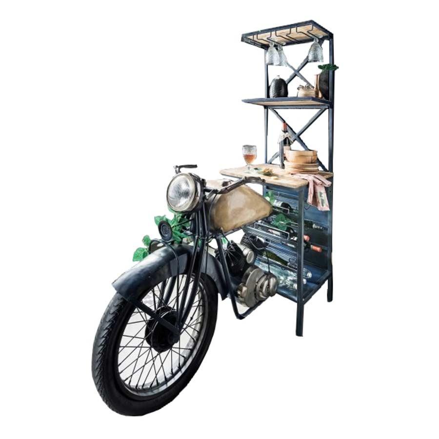 Le reconfinement, ça donne des idées ? Motorrad-weinregal-bartresen-mit-flaschen-glashalter