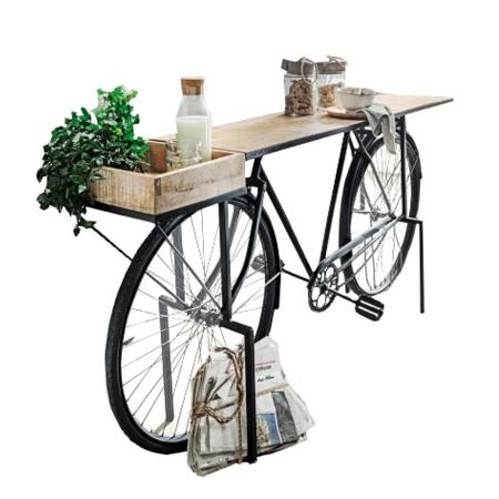 Fahrrad Anrichte Vintage Konsolentisch 185 cm