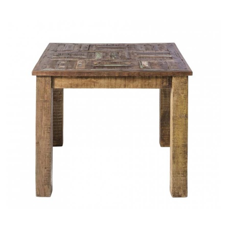 Esstisch Vintage Holz Multy quadratisch 90 cm