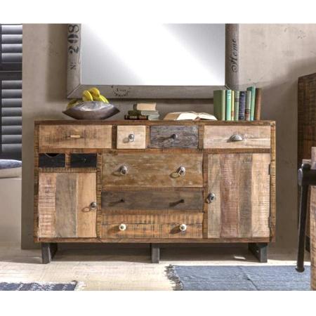 Vintage Holz Anrichte Multy 140 cm Kommode