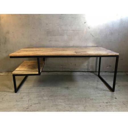 Vintage Holz Beistelltisch Grovy TV Lowboard