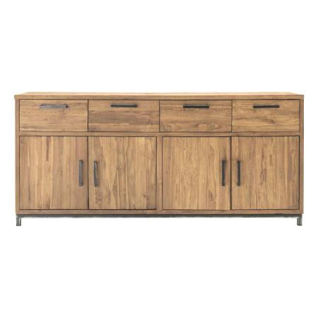 Holz Sideboard Mari Anrichte Teak recycelt 200 cm