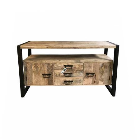 Sideboard Anrichte industrial Holz Metall 150 cm