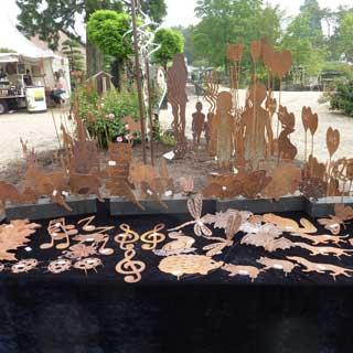 Ausstellung Skulptur und Garten in Tönisvorst