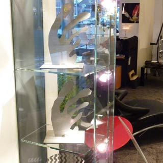 Vitrine Ausstellung Design Collection
