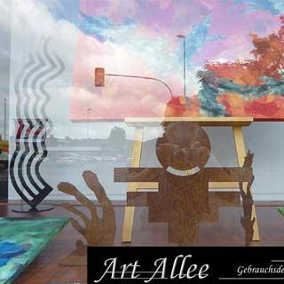 Galerie Kunstausstellung in Moers City