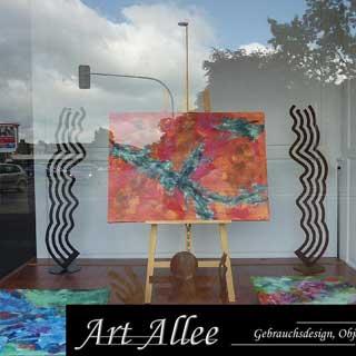 Ausstellung Galerie Bourceau in Moers