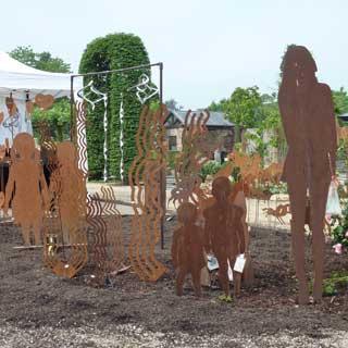 Garten Skulpturen Metall Kempen