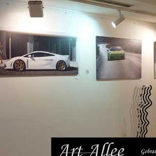Hochwertige Kunst auf Leinwand Motiv Lamborghini