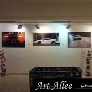 Leinwand Kunst mit Lamborghini Motiven in Neukirchen Vluyn