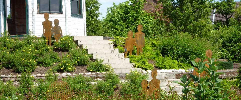 Metall Dekoration für Haus,  Garten und Büro