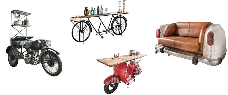 Auto Möbel - Fahrrad, Motorrad, Scooter
